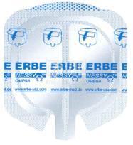 德国爱尔博ERBE一次性Ω型负极板高频电刀负极板20193-082