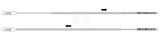 美国库克Tao Brush IUMC子宫内膜采样器J-ES-090500