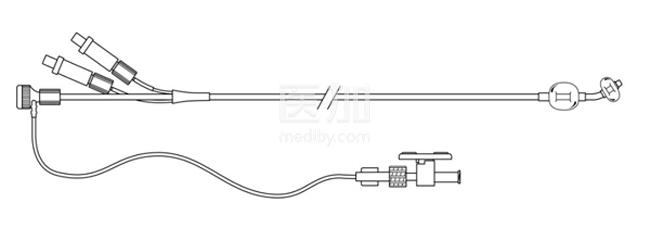 美国库克球囊子宫颈套管J-CBCC-120018