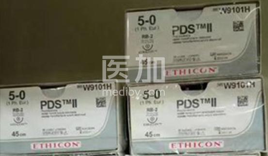 美国强生PDS美容蛋白线5-0W9101H