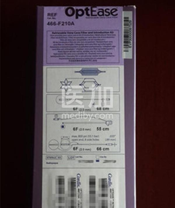 强生可回收滤器Cordis 466-F210A