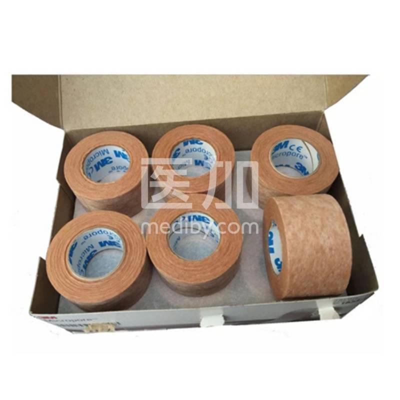 3M医用肉肤色胶布防过敏透气美容胶带1533-1