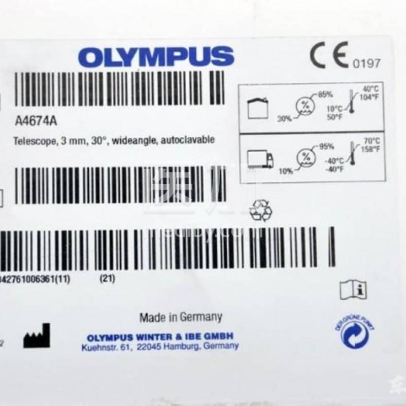 日本奥林巴斯OLYMPUS30°宫腔检查镜A4674A